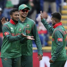 Ton-up Shakib Al Hasan, Mahmudullah steer Bangladesh to dramatic five-wicket win over New Zealand