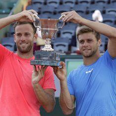 French Open: Michael Venus and Ryan Harrison win men's doubles title