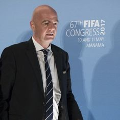 Diplomatic crisis in Qatar will not affect 2022 World Cup, insists FIFA chief Gianni Infantino