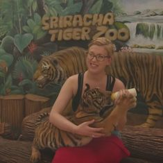 Watch: The cruel reality behind Thailand's roaring tiger selfie trade
