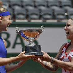 French Open: Bethanie Mattek-Sands and Lucie Safarova clinch women's doubles glory