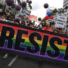 US: Thousands take to streets for LGBTQ rights, LA rally turns into 'Resist March' against Trump