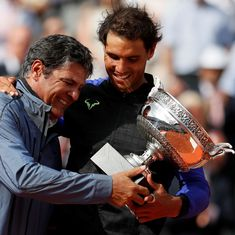 'I was always confident that Rafa would win', says Toni Nadal