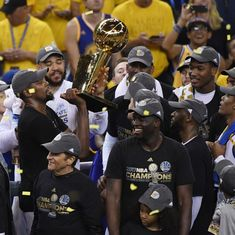 Warriors win fifth NBA title, reclaim throne they lost to the Cavaliers a year ago