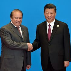 China denies rumours of a rift, says Xi Jinping and Nawaz Sharif met 'several times' at SCO summit