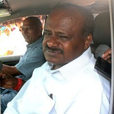 Karnataka: Chief Minister Kumaraswamy says he is at Congress' mercy to waive farm loans