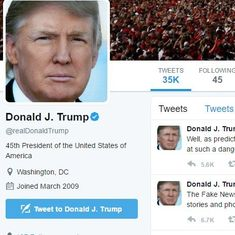 Twitter staffer deactivates Trump's account on last day of work
