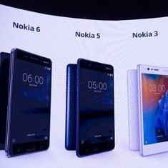 Nokia makes comeback in Indian market with Android-based Nokia 3, 5 and 6