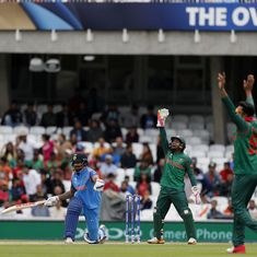 India shouldn't go home for a while if they lose to Bangladesh in Champions Trophy: Geoffrey Boycott