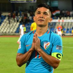 'Scream at us, but come watch us': Indian captain Sunil Chhetri makes heartfelt plea to fans