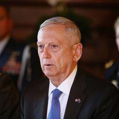 अगर उत्तर कोरिया अमेरिका पर हमला करता है तो तुरंत युद्ध शुरू हो जाएगा : जेम्स मैटिस