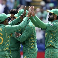 Pakistan thrash England by eight wickets to book place in Champions Trophy final