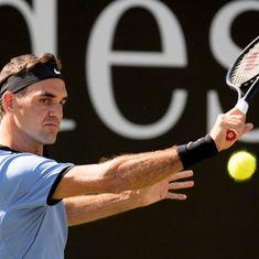 Federer beats defending champion Florian Mayer to enter 13th Halle semi-final
