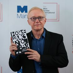 Israeli writer David Grossman wins Man Booker International for 'A Horse Walks Into A Bar'