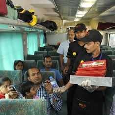 Rajdhani, Shatabdi passengers can now order food from Domino's, KFC or McDonald's
