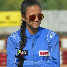 Mira Erda becomes India's first female driver to race in National Racing Championship
