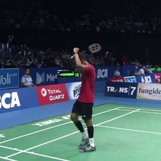 Plan was to frustrate Chen Long by returning every shuttle: HS Prannoy after upsetting Olympic champ