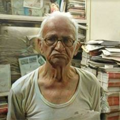 An 80-year-old Urdu poet declared dead by the Delhi government is struggling to survive
