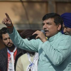 AAP MP Sanjay Singh says he won't apologise for his allegations of drug trade against Punjab leader