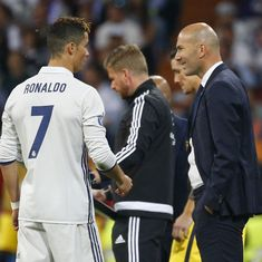 Zidane pleads with Ronaldo to not quit Real Madrid, claims report