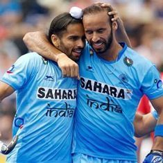 We love the stick: Indians cheer hockey win over Pakistan – and chuckle over huge cricket loss