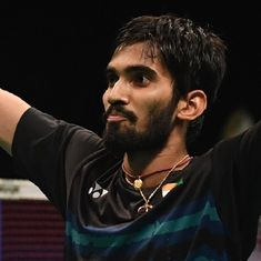 K Srikanth's incredible form has put him on top of the badminton earnings chart for 2017