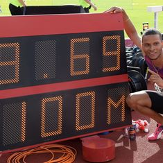 Canadian sprinter Andre De Grasse clocks 9.69 seconds in wind-aided 100m win at Stockholm
