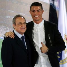 Florentino Perez to remain as Real Madrid president until 2021