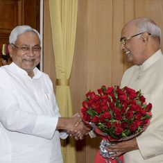 Presidential race: Nitish puts Opposition unity on shaky ground as he seems to lean towards Kovind