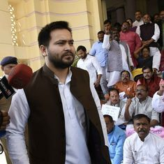Bihar: Tejashwi Yadav blames the media for scuffle, claims his bodyguards were only protecting him