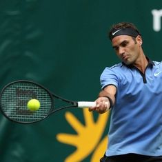 Roger Federer claims 1100th tour win in Halle opener