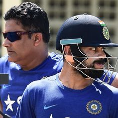 Tendulkar and Ganguly couldn't convince Kohli to let Kumble continue as coach, reveals CoA chief Rai