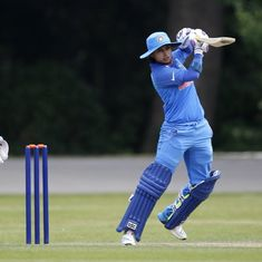 Women's World Cup: Mithali Raj powers India to 109-run win over Sri Lanka in last warm-up game