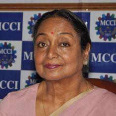 राष्ट्रपति चुनाव : मीरा कुमार साबरमती आश्रम से चुनाव प्रचार शुरू करेंगी