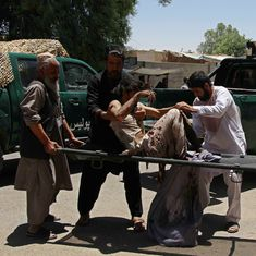 Afghanistan: At least 29 dead after bomb explodes outside bank in Helmand province