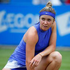 Elina Svitolina could miss Wimbledon due to heel injury