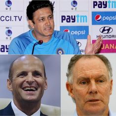 Wright vs Chappell vs Kirsten vs Kumble: Which style of coaching suits India best?