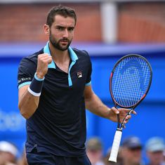 Marin Cilic enters last-four stage at Queen's, to clash against Gilles Muller for place in the final