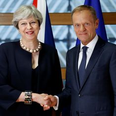 Brexit: Theresa May's offer to EU citizens living in UK is 'below expectations', says Donald Tusk