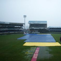 India vs West Indies: Rain has the final say after Dhawan-Rahane's century partnership