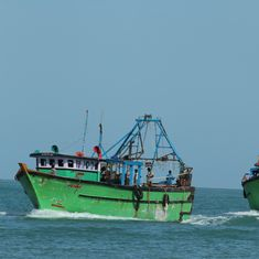 Sri Lankan Navy arrests 48 Indian fishermen for allegedly trawling in the country's waters