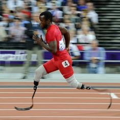 Blake Leeper breaks Oscar Pistorius' 400 metre Paralympic World record