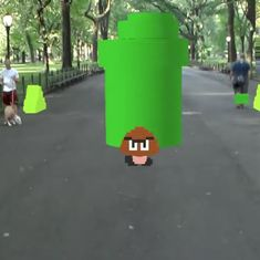 Watch: An Indian coder recreated Super Mario Bros as a life-size augmented reality game