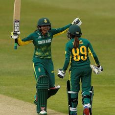 Women's World Cup: Shabnim Ismail's late heroics guide South Africa to 7-wicket win over Pakistan
