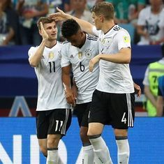 Confederations Cup: Germany set up semi-final clash with Mexico, Chile to face Portugal