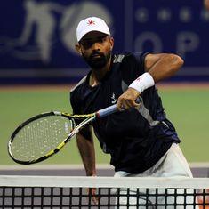 India's Jeevan Nedunchezhiyan and partner Matt Reid down French Open champs at Aegon International