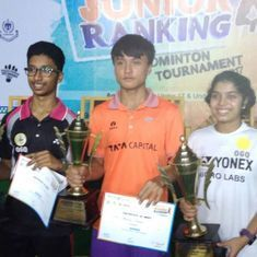 Rahul Bhardhvaj, Aakarshi Kashyap win U-19 titles at All India Junior Ranking Badminton Tournament