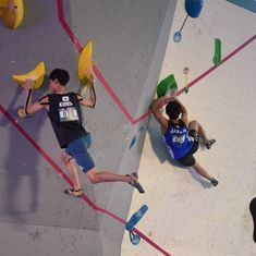 Ready, steady, climb: A new Olympic event that is growing in popularity in India