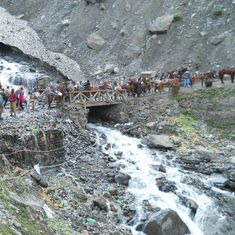 First batch of pilgrims leaves Jammu for Amarnath amid tight security