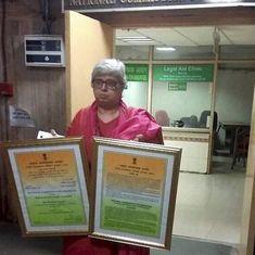 Activist Shabnam Hashmi returns National Minority Rights Award in protest against lynchings